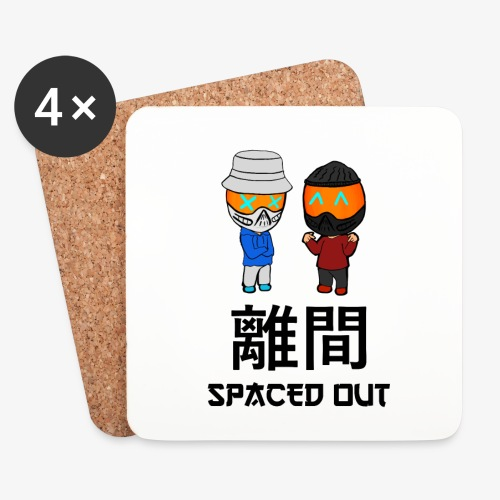 SPACED OUT (Chibi) - Coasters (set of 4)