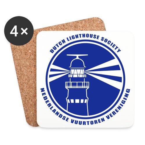 NVV Logo - Onderzetters (4 stuks)