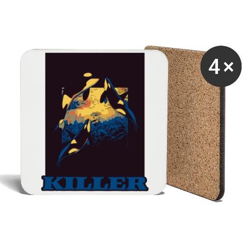 Killer - Coasters (set of 4)
