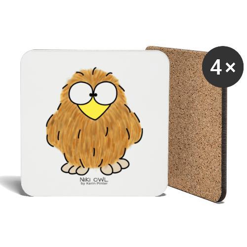 Niki Owl - Coasters (set of 4)