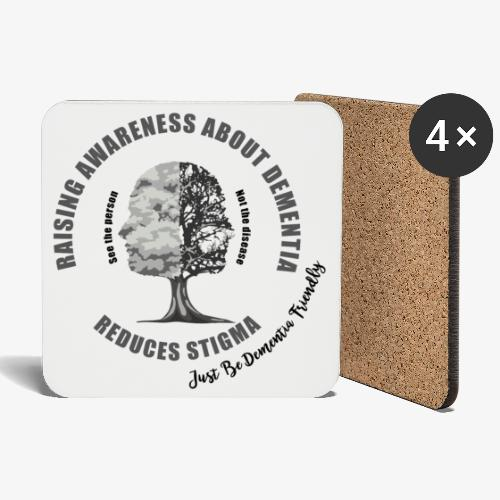 Reducing the Stigma of Dementia - Coasters (set of 4)