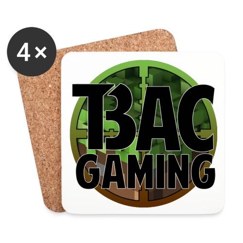 T.B.A.C Logo 4k - Coasters (set of 4)