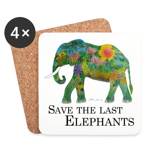 Save The Last Elephants - Untersetzer (4er-Set)