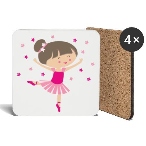Happy Meitlis - Ballerina - Untersetzer (4er-Set)