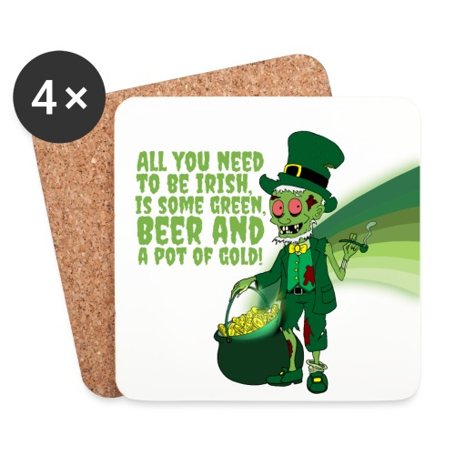 Irish man - Coasters (set of 4)
