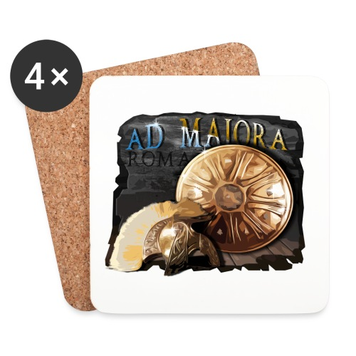 Roma - Ad Majora - Sottobicchieri (set da 4 pezzi)