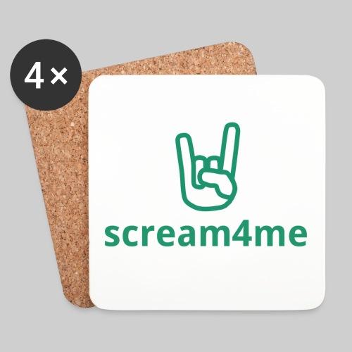 logo_text_green - Coasters (set of 4)