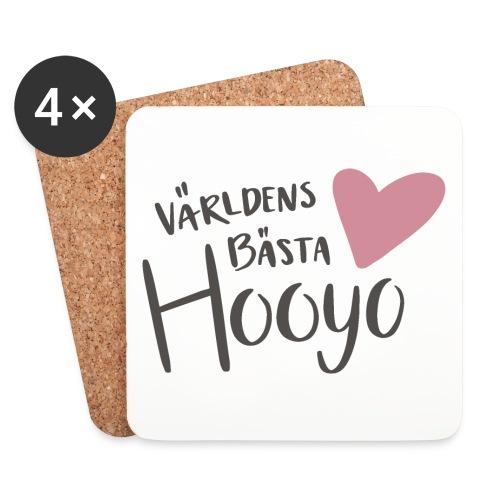 Världens bästa Hooyo - Underlägg (4-pack)