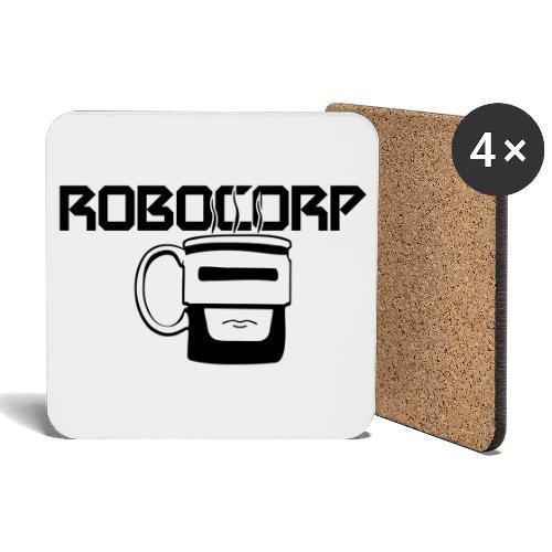 Robo corp - Podstawki (4 sztuki w zestawie)