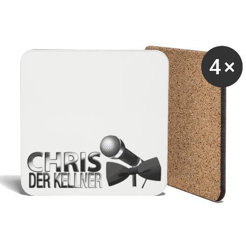 Chris der Kellner - Untersetzer (4er-Set)