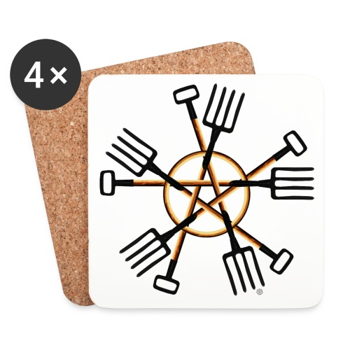PAGAN GARDENER - Coasters (set of 4)