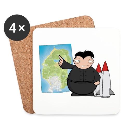 Happy Dictator. - Posavasos (juego de 4)