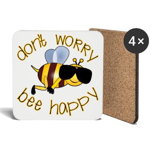 Bee happy, it´s summertime! - Untersetzer (4er-Set)