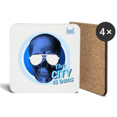 Blue Skull - Coasters (set of 4)