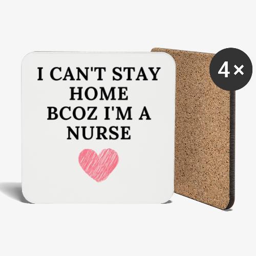 Because I'm Nurse - Lasinalustat (4 kpl:n setti)